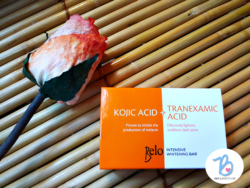 belo kojic acid soap