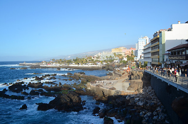 Open to the sea, San Telmo Promenade, Puerto de la Cruz, Tenerife