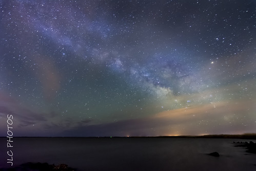 The Milky Way turns Green.