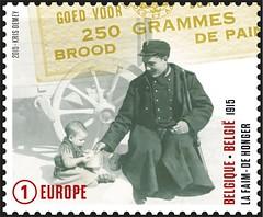 04 DE GROOTE OORLOG 1915 timbre E