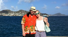 Sarah & i in St Kitts