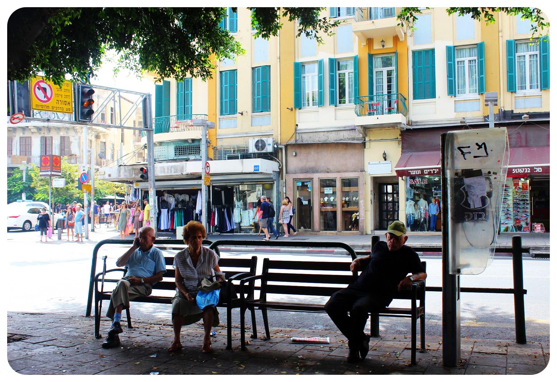 tel aviv street israel