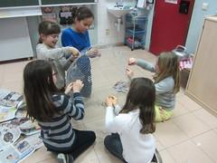 15.03.31 4B Samen bouwen aan een vrolijk klaspaasei!