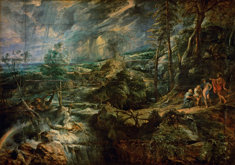 Peter Paul Rubens - Landscape with Philemon and Baucis (c.1625)