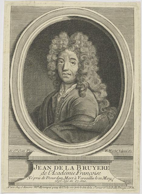 Bildnis des Jean de la Bruyere