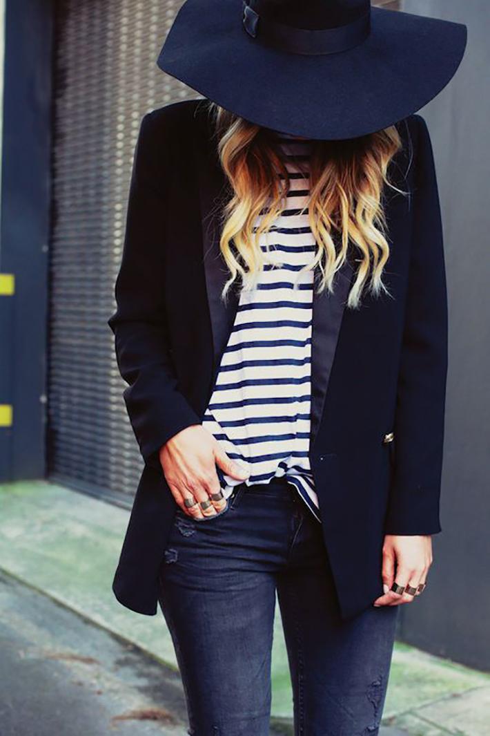 Stripes Navy Style Inspiration Streetstyle02