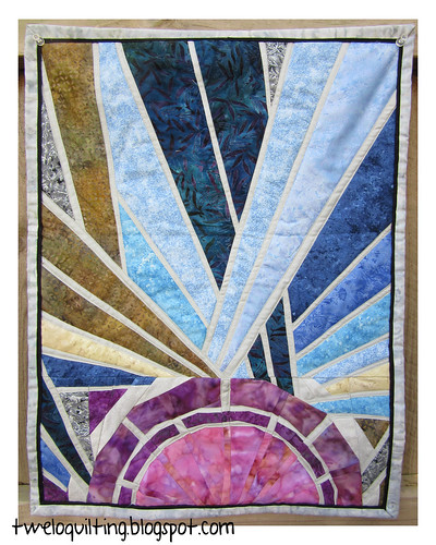 Stained Glass Quilt by TweLoQ