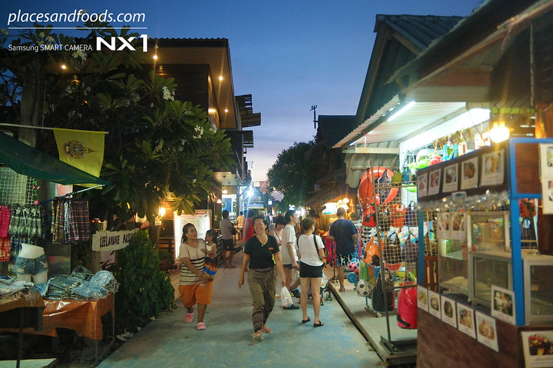 ko lipe walking street night