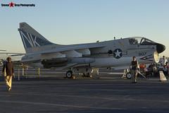 154370 NK-507 - B-010 - US Navy - LTV A-7B Corsair II - USS Midway Museum San Diego, California - 141223 - Steven Gray - IMG_6739