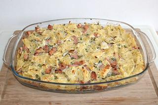 26 - Rigatoni curd gratin - Finished baking / Rigatoni-Quark-Gratin - Fertig gebacken