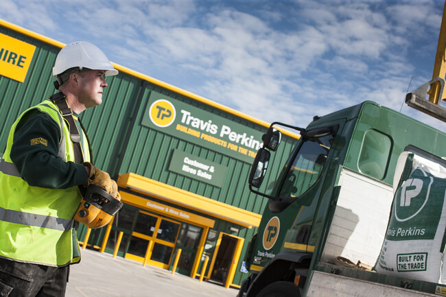 Total sales at Travis Perkins grew 5%
