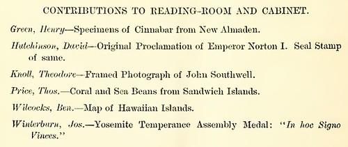 Norton I Proclamation and Seal