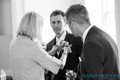 Rob & Laura Wedding: buttonholes