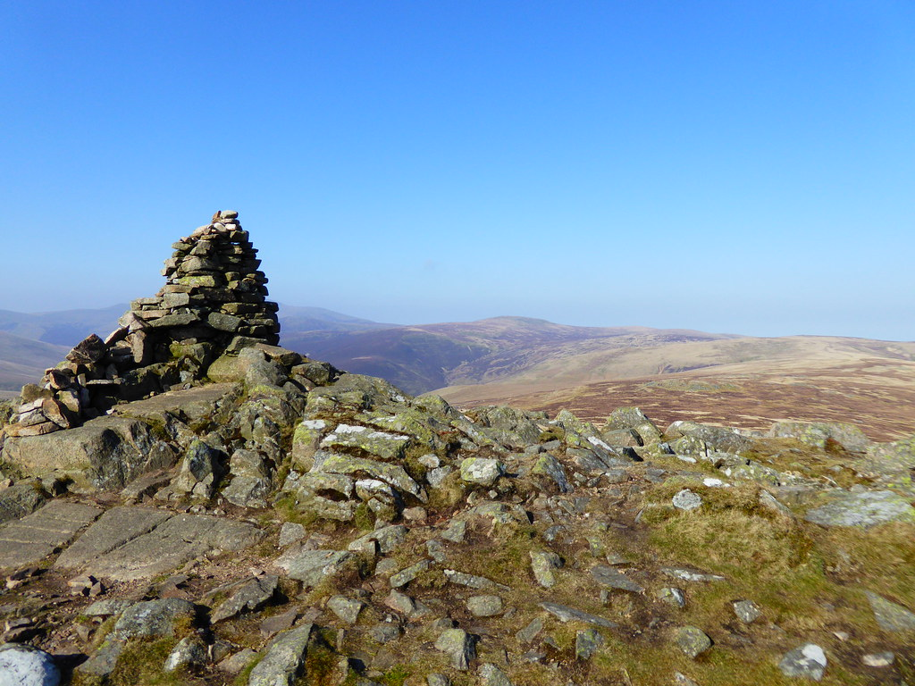 Carrock Fell with distant Skiddaw