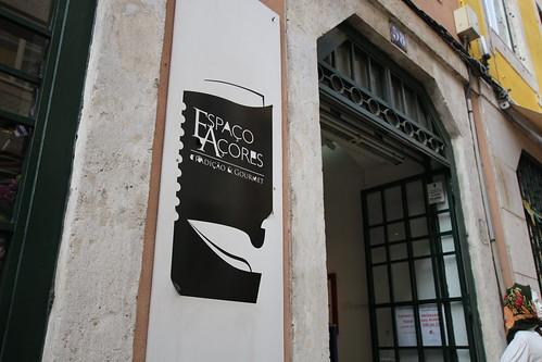 リスボンでアゾレス諸島の食品が買える Espaco Acores