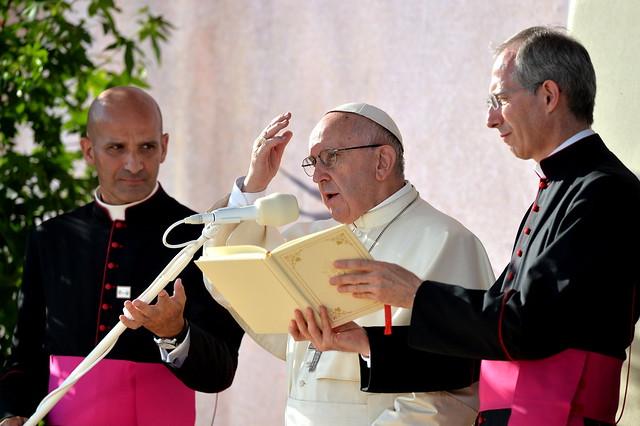 Droga Krzyżowa z udziałem Franciszka, 29 VII 2016