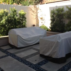 Little patio in Laguna#patio #contractor #designer #backyard #alfordsgardens #design