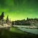 Black Rapids Aurora by Grant Kaye