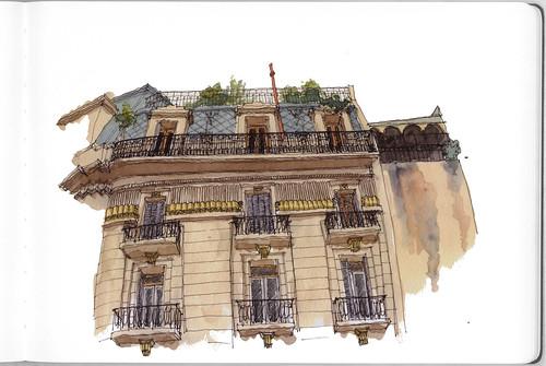 Plaza Dorrego II / Dorrego Square II: