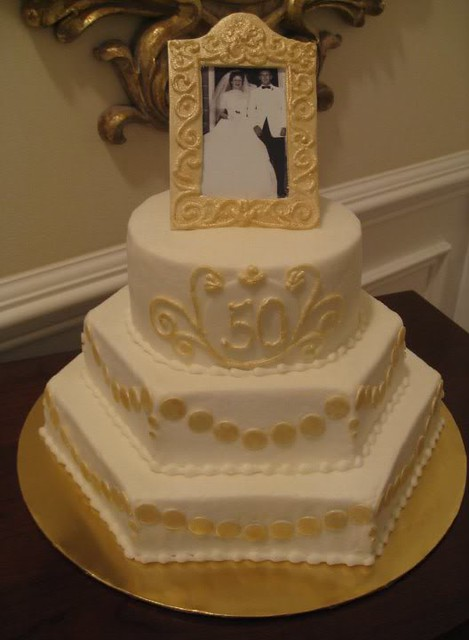 50th Wedding Anniversary Cake Ideas Photos Wallpaper ...