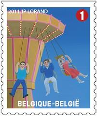 11 LA FOIRE timbrea
