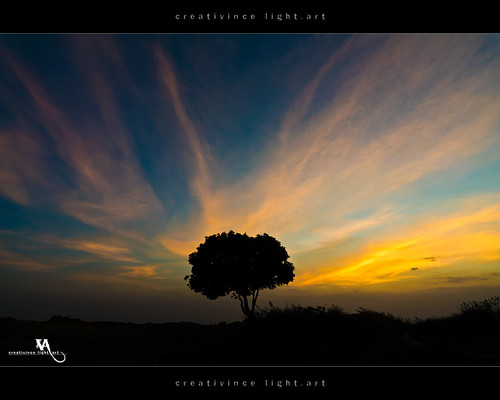 sunset silhouette landscape bangalore orangesky nandihills cloudstreak creativince