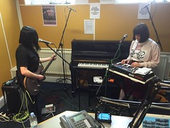 Paper Dollhouse and Jordan Hunt perform live in session and Steve Rushton reads poetry in The deXter Bentley Hello GoodBye Show on Resonance 104.4 FM on Saturday 25th April 2015.
