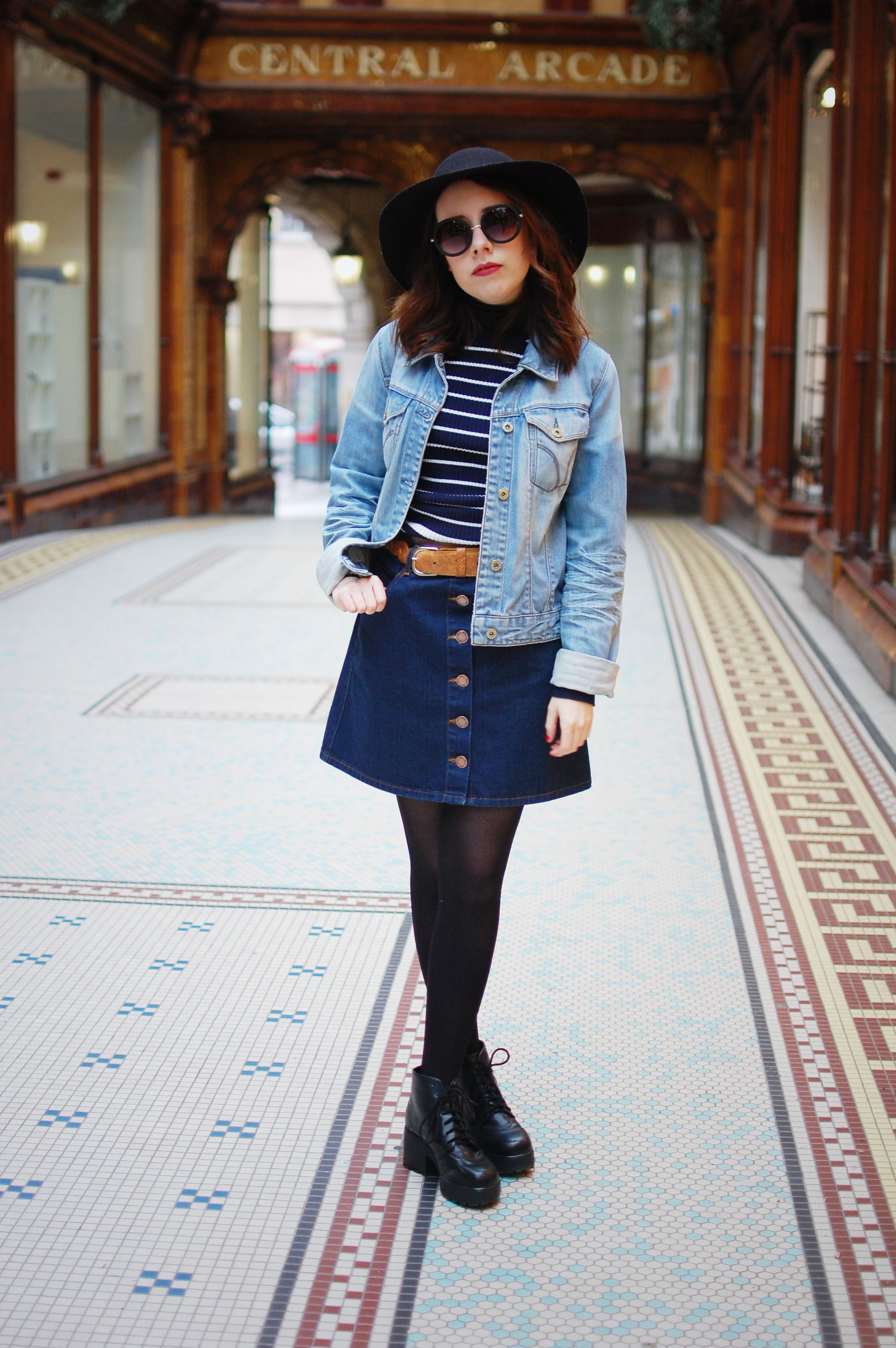 Denim skirt outfit 2015 – Modern skirts blog for you