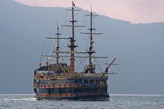 Hakone sightseeing cruise boat #3