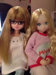 Lily's new friend: Peony!