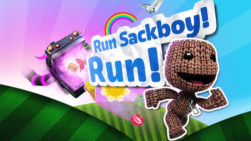 Run Sackboy!! Run!
