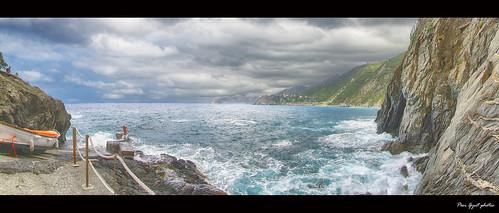 Via dell' Amore. Cinque Terre. Liguria.