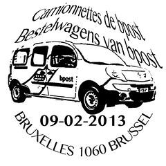 05- Camionnettes de bpost prévente F