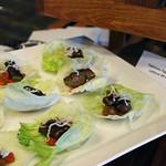 Yakinasu Eggplant Lettuce Wrap