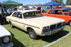 automobile, automotive exterior, vehicle, full-size car, ford xy falcon gt, antique car, sedan, land vehicle,