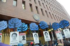Manifestaci�n M�xico afueras CIDH