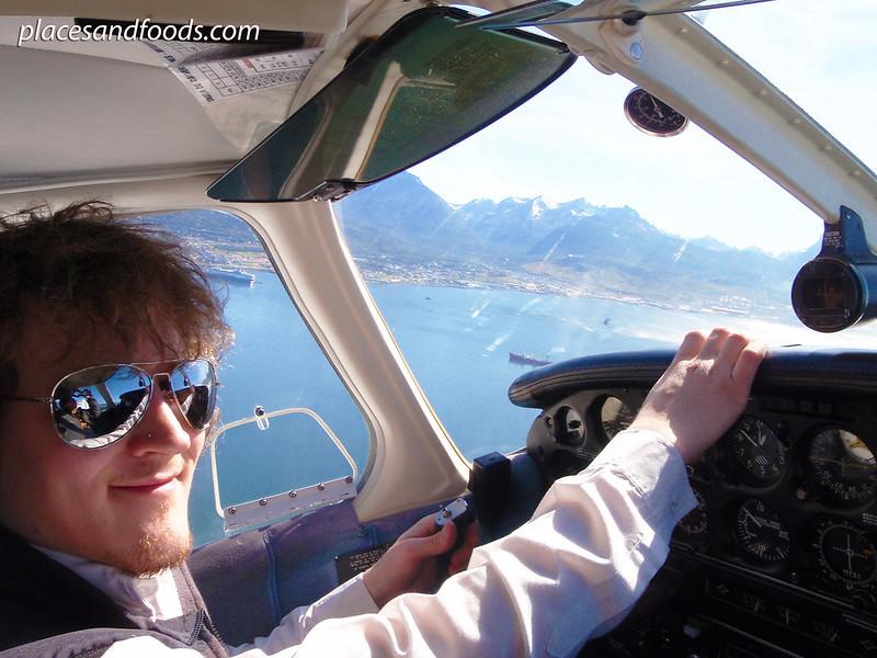 aero club ushuaia flying captain