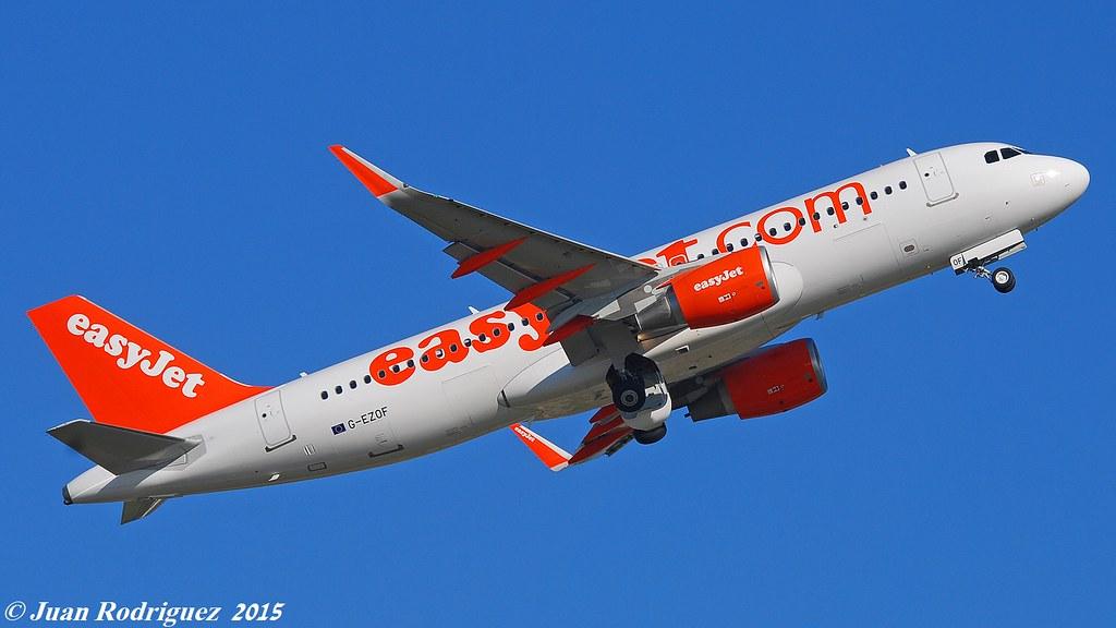G-EZOF - A320 - EasyJet