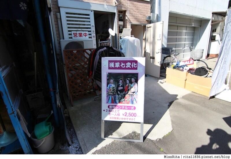 日本東京 東京和服體驗 淺草和服 淺草七變化 淺草七變化預約教學3