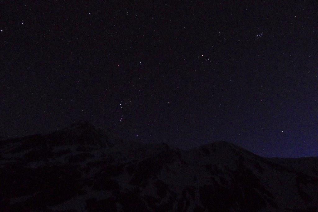 Orion over Bidean an Eoin Deirg