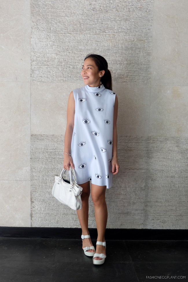 EYE DRESS STREET STYLE