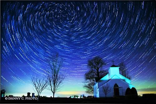 Aurora borealis near Pana Illinois