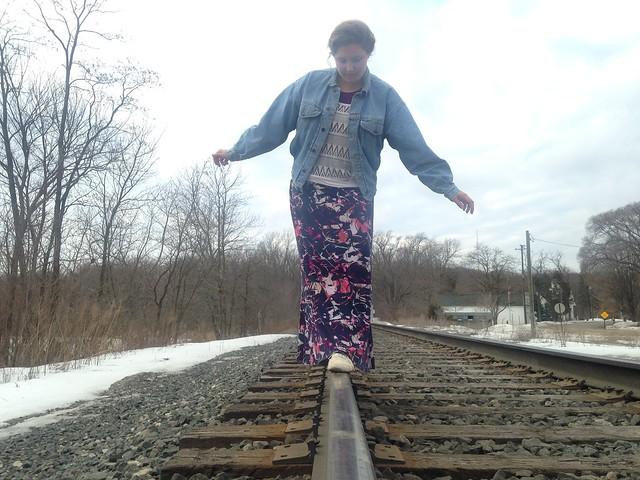 Bekah's 80's-ish Outfit