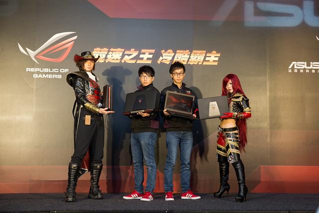 華碩 ROG 電競筆電新成員 – G501 / GL552 發表會 @3C 達人廖阿輝