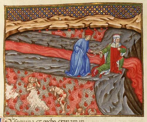 012-Ms 2017- L'Enfer de Dante…1401-1500-Folio 191r- Bibliothèque nationale de France