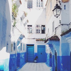 It was just a #pinterest and now I'm here for real! The Blue City #Chefchaouen #Morocco #wanderlust #travel #diaries