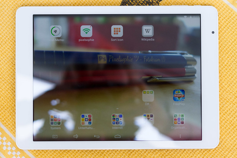 Teclast X98 Air Display eingeschaltet Android
