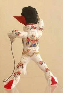 #Elvis #Presley #KnittedDoll Tribute #Denise #Salway #William #Belew #jumpsuit