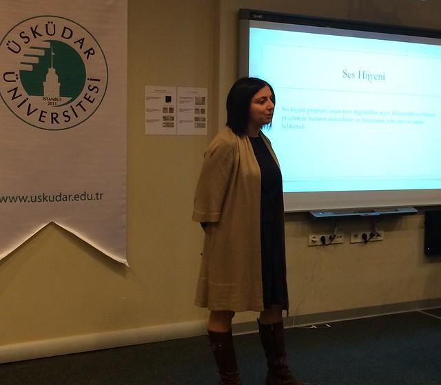 Ses Terapisi Toplantısı Üsküdar Üniversitesi'nde yapıldı! 2