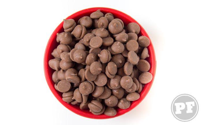 Gotas de Chocolate: Forneáveis